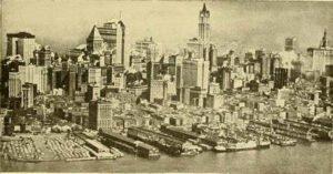 Sur la route du refuge, New York 1920